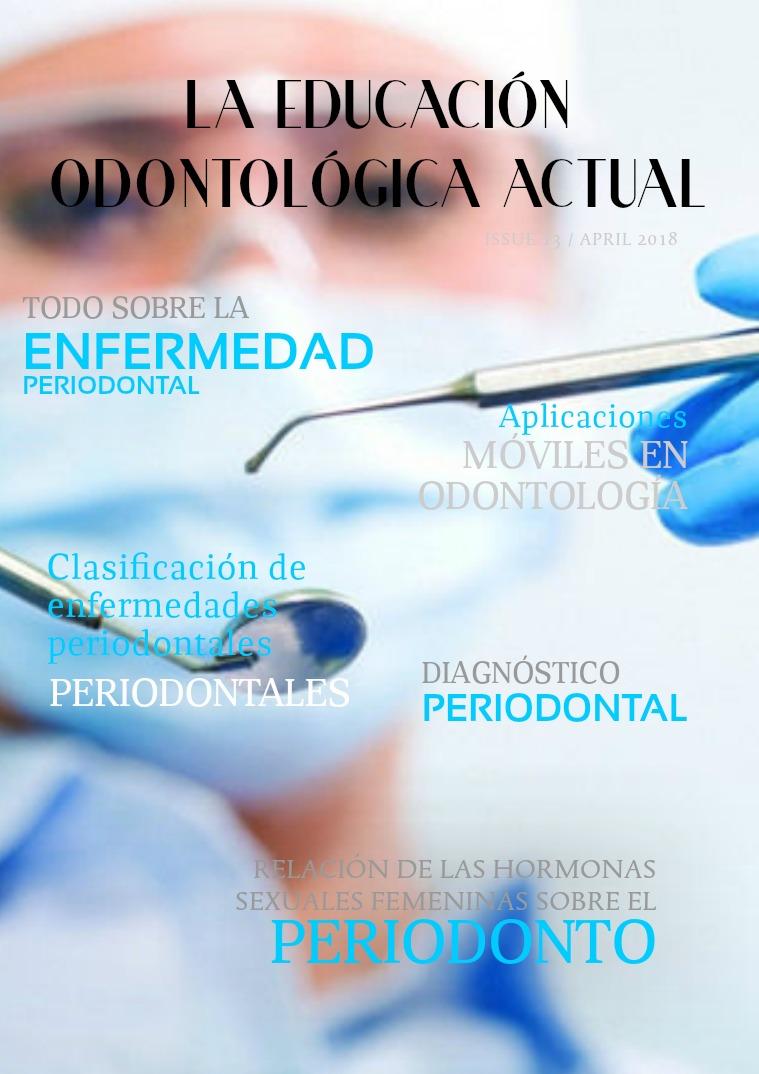 La educación odontológica actual n°1