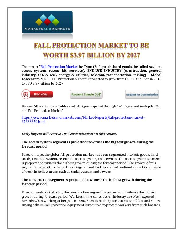 Chemicals and Materials Fall Protection Market New1