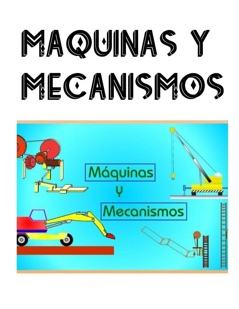 Mi primera revista maquinas y mecanismos