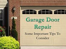 Garage Doors Repair Service