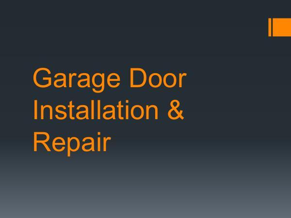 Garage Doors Repair Service Garage Door Installation & Repair