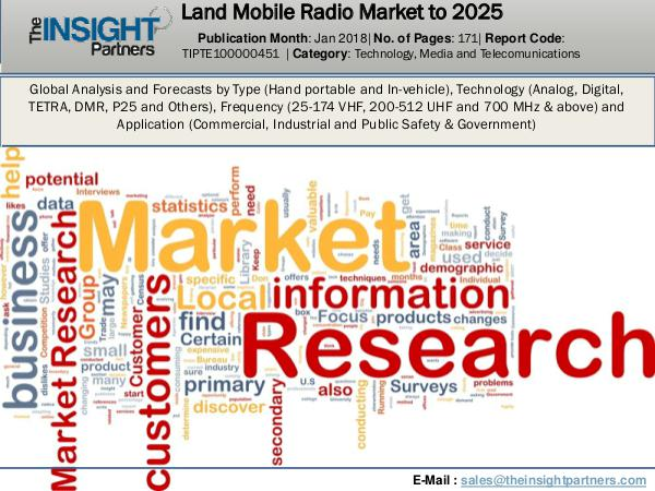 Urology Surgical Market: Industry Research Report 2018-2025 Land Mobile Radio Market