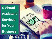 5 Virtual Assistant Services for Your Business