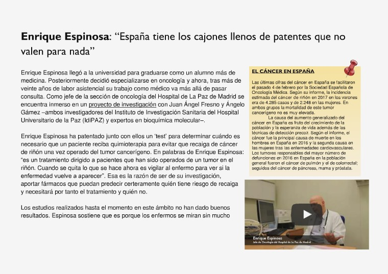 ENTREVISTA Enrique Espinosa