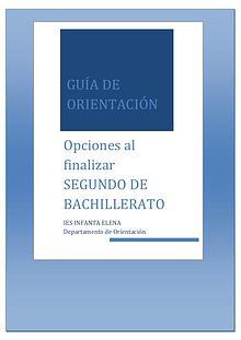 Guía de Orientación para Bachillerato