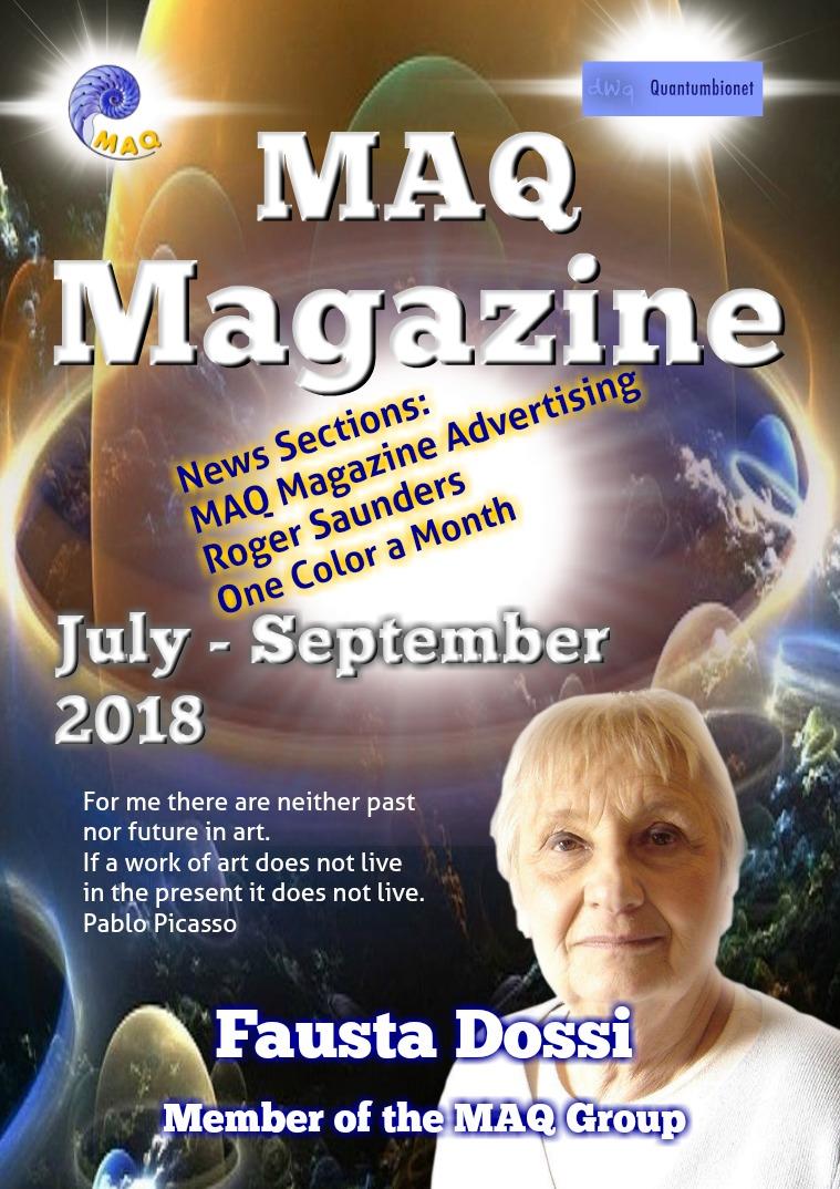 The magazine MAQ September 2018 The magazine MAQ September 2018