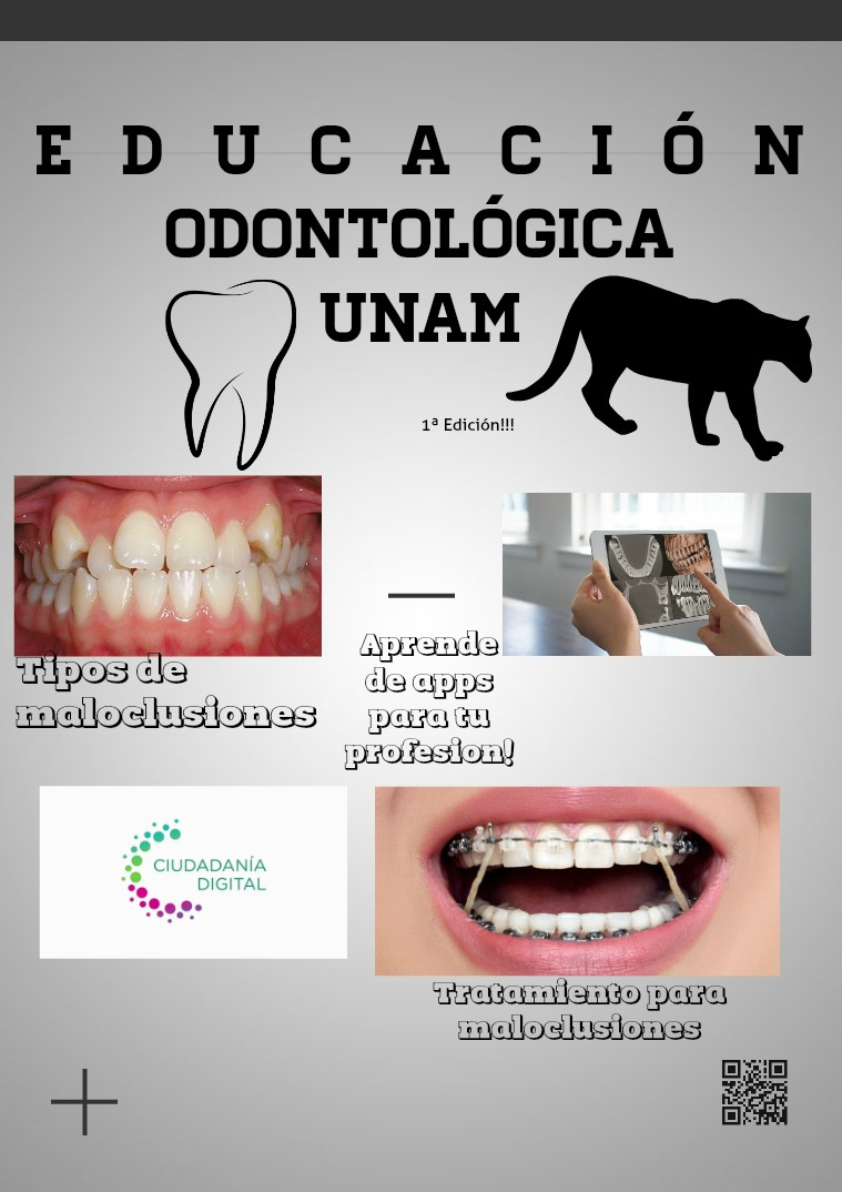 Educación Odontológica UNAM 1 Volumen
