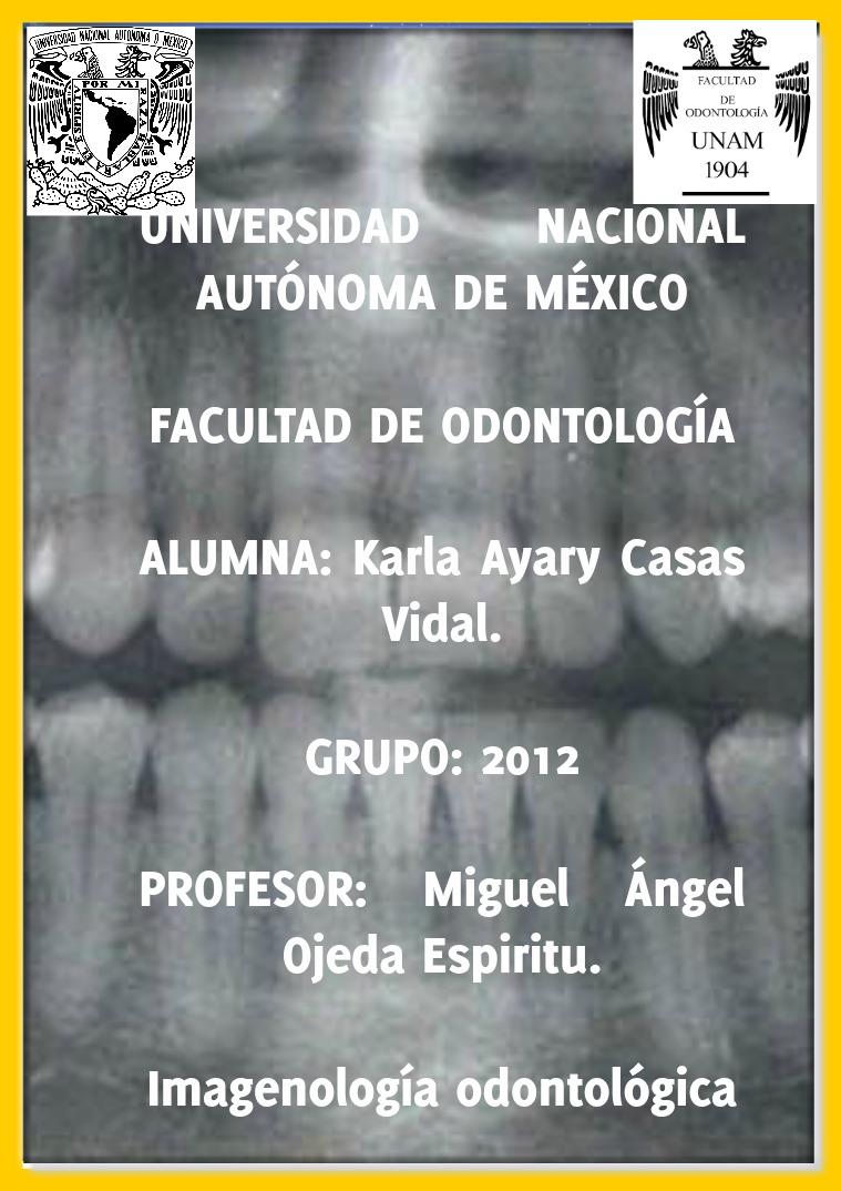Revista radiográfica Revista radiográfica