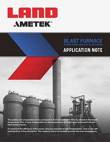 Application Note: Note Blast Furnace Temperature Measurement