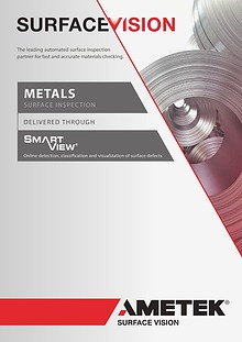 AMETEK Surface Vision Metals Brochure