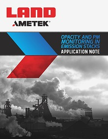 Application Note - Opacity and Pm Monitoring in Emission Stacks