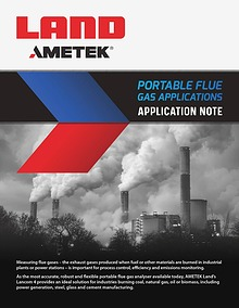 Application Note - Portable Flue Gas Applications