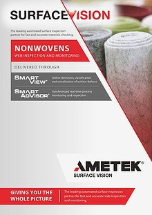 AMETEK Surface Vision - Nowovens Web Inspection and Monitoring