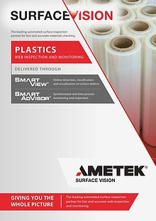 AMETEK Surface Vision - Plastics Web Inspection and Monitoring
