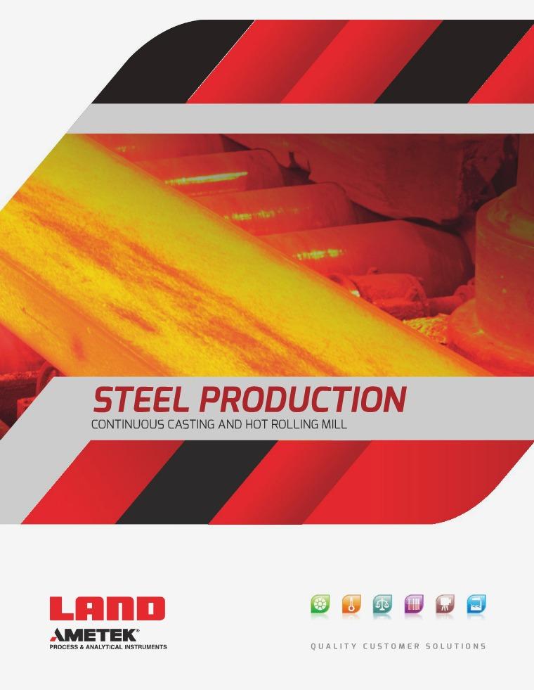 AMETEK Land - Steel Production ametek_land_continuous_caster_and_hot_rolling_mill