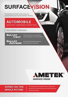 AMETEK Surface Vision - Automobile Industry Component Inspection