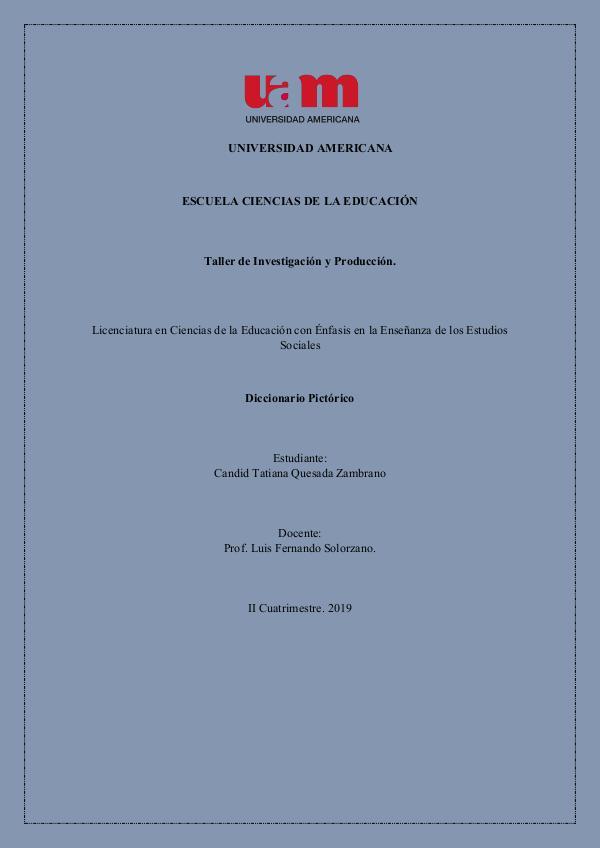 Diccionario Pictórico Diccionario Candi q_Zambrano