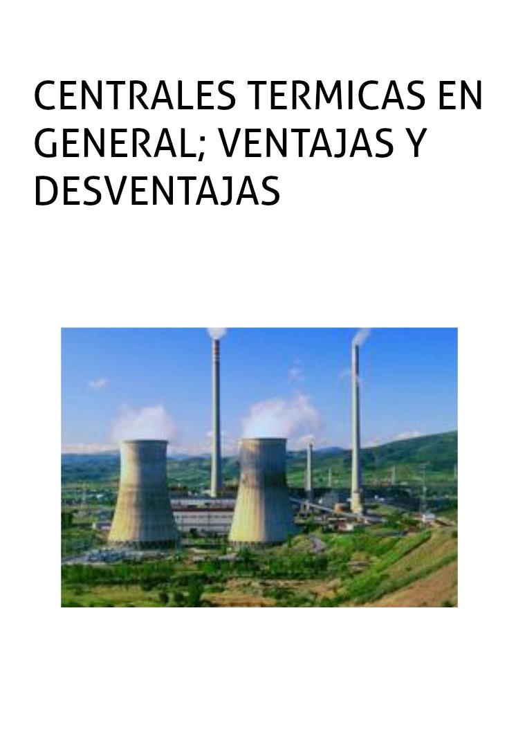 Centrales Termicas en Gerneral centrales termicas