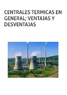 Centrales Termicas en Gerneral