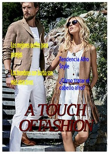 REVISTA - A TOUCH OF FASHION