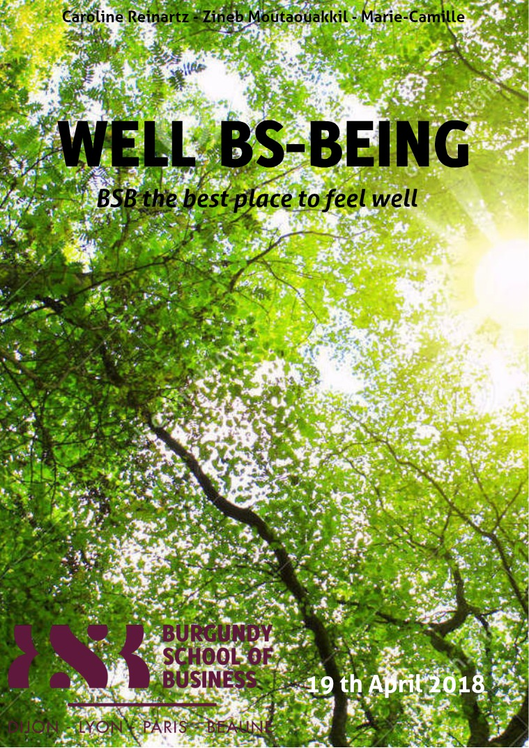 The Well BSBeing Part 1