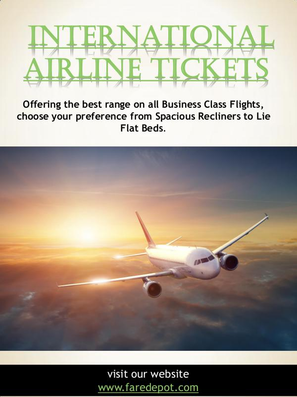 International Airline Tickets | Call Us  866-860-2