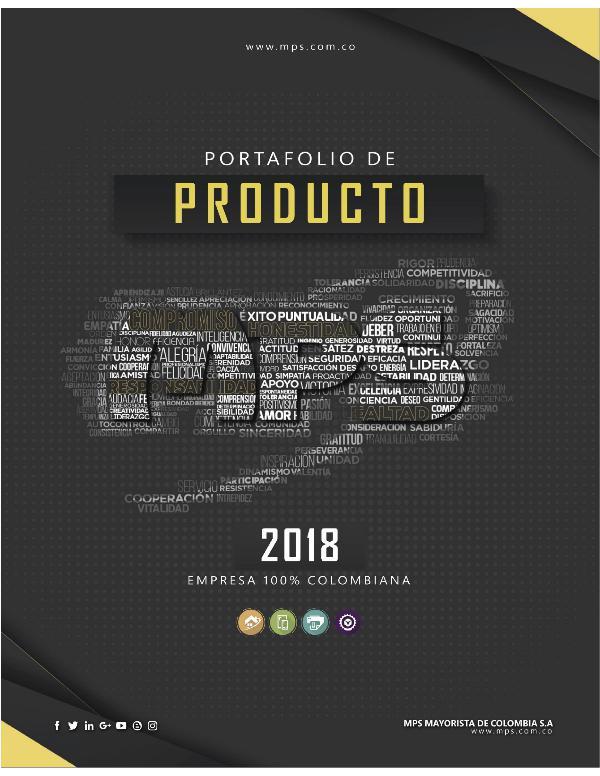 Catálogo Virtual MPS 2018 CatalogoVirtualProductos