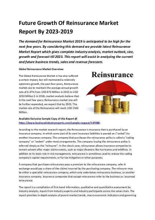 Global Reinsurance Market Report 2019-converted