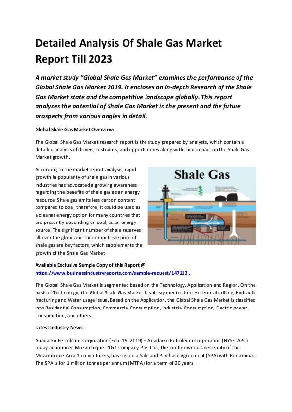 Global Shale Gas Market Report 2019-converted
