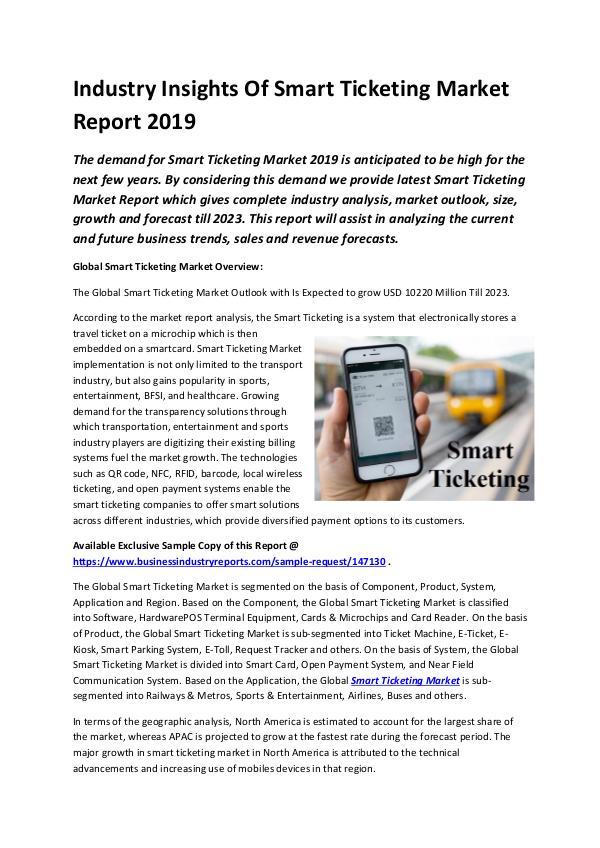 Global Smart Ticketing Market Report 2019-converte