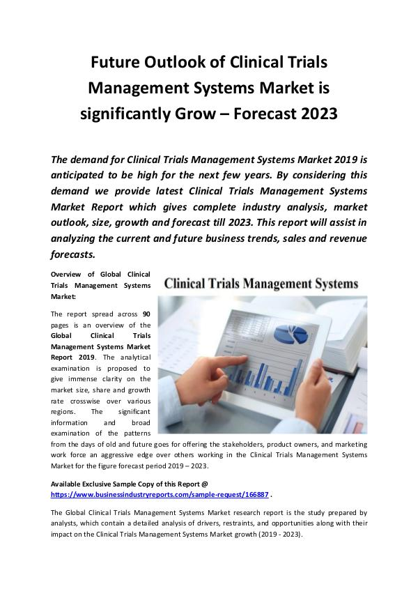 Global Clinical Trials Management Systems Market R