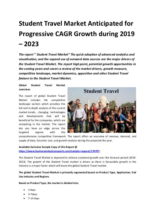 Global Student Travel Market Report 2019.docx