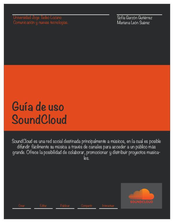 SoundCloud. SounCloud