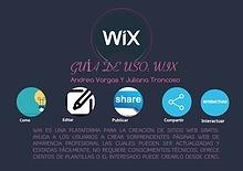 GUÍA DE USO: WIX Universidad Jorge Tadeo Lozano.