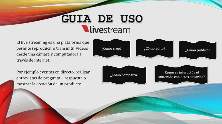 Guia de uso Video Streaming
