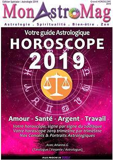 Guide Astro et Horoscope 2019 - MonAstroMag
