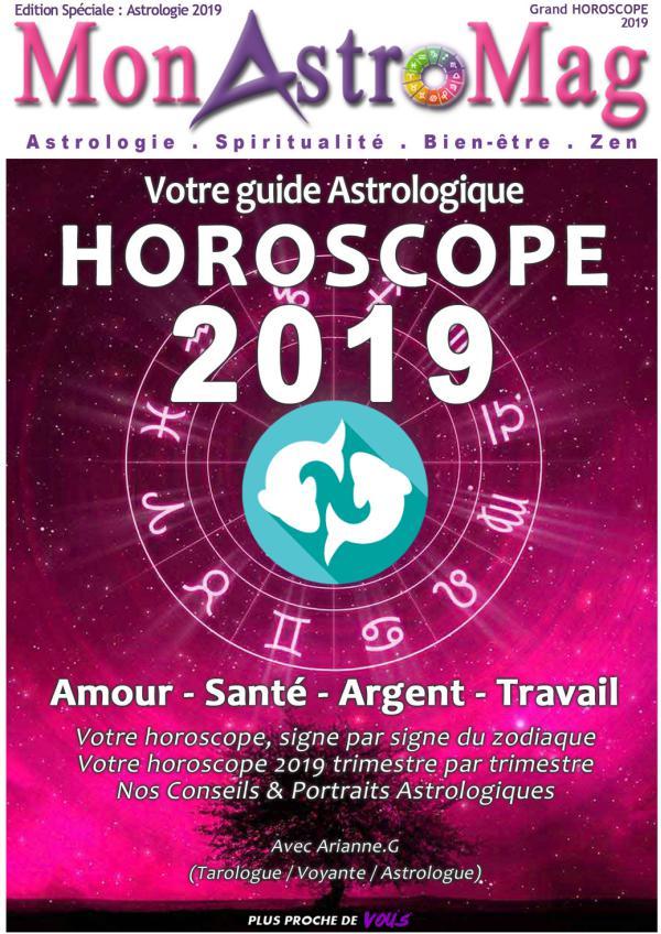 Guide Astro et Horoscope 2019 - MonAstroMag POISSON - Grand Horoscope 2019