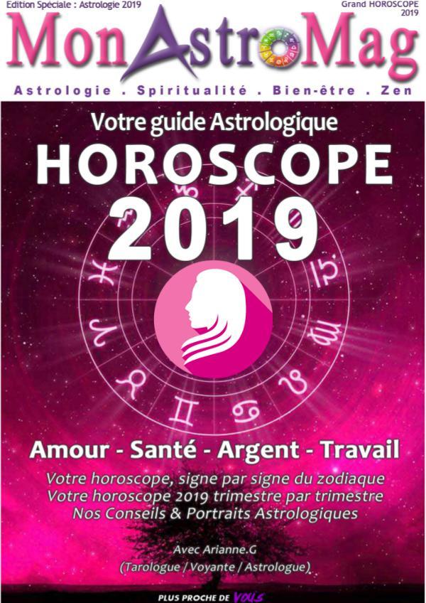 Guide Astro et Horoscope 2019 - MonAstroMag VIERGE - Grand Horoscope 2019