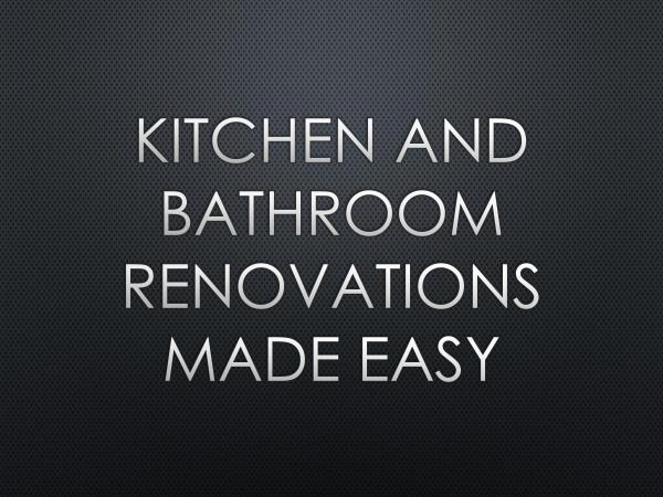 AK Solutions Kitchen and Bathroom Renovations Made Easy