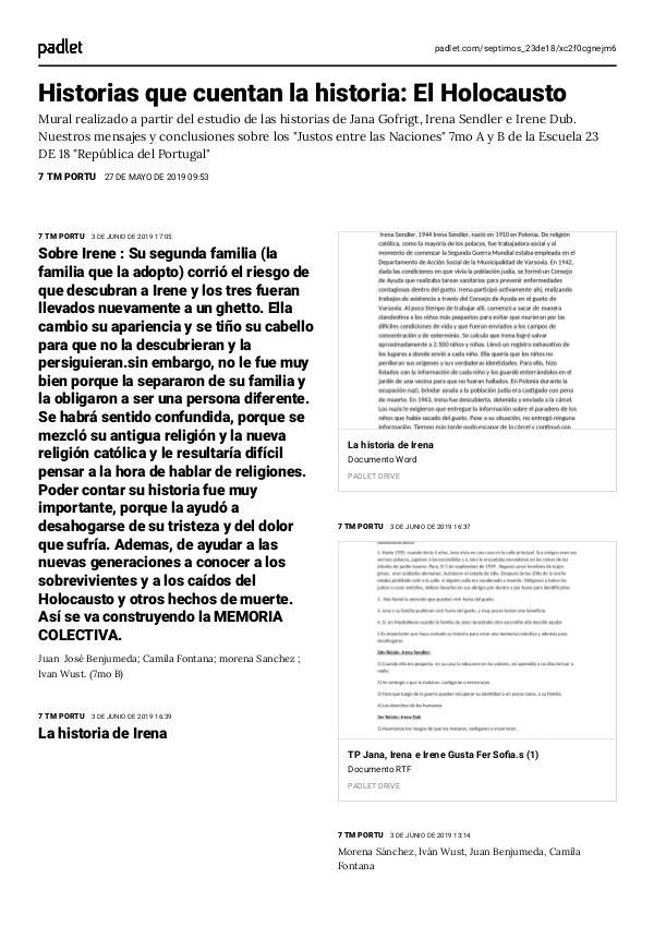 """REVISTA : HISTORIAS QUE CUENTAN LA HISTORIA. Revista:"""" Justos entre las Naciones"""""""