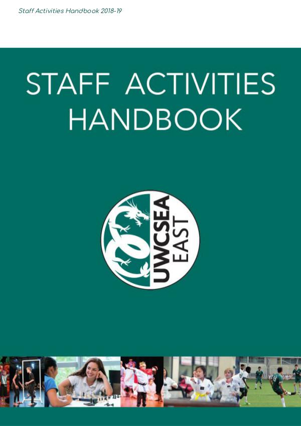AH2 Activities Handbook 2018-19