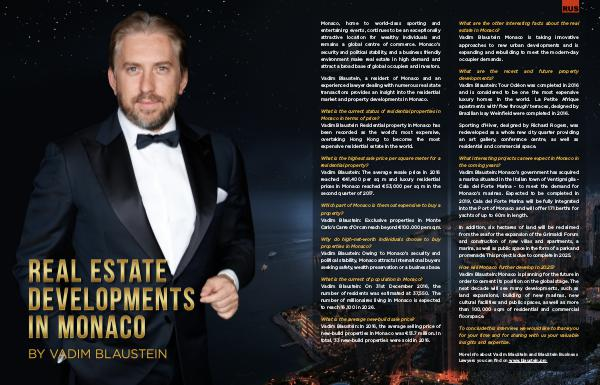 Vadim Blaustein on Real Estate Developments in Monaco English