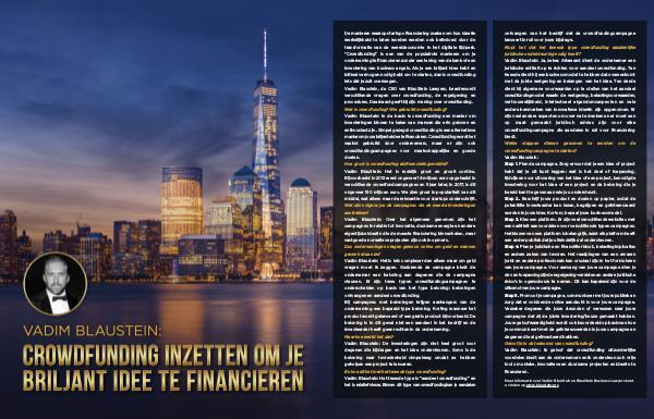 Vadim Blaustein: Crowdfunding inzetten om je briljant idee te financi Dutch