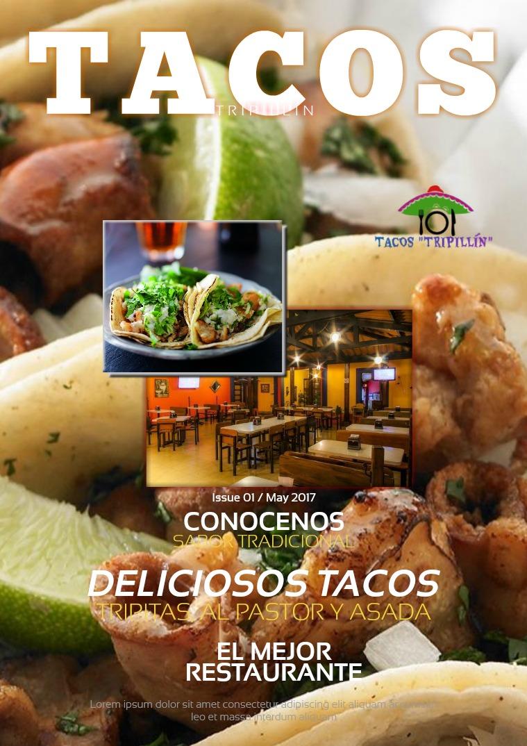 TACOS TRIPILLÍN tacos