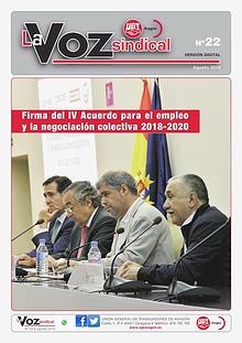 UGT Aragón. La voz nº. 22