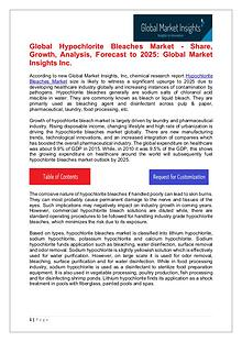 Hypochlorite Bleaches Market - Share, Growth, Analysis