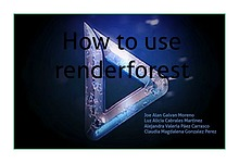 how to use renderforest