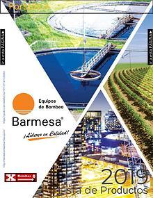 Catálogo y Lista de Precios Bombas Barnes de Mexico Barmesa 2019