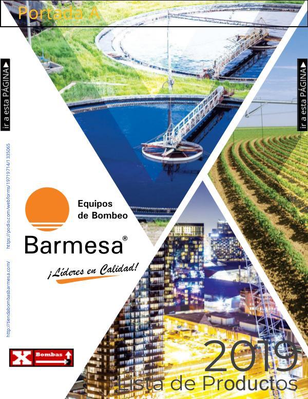Catálogo y Lista de Precios Bombas Barnes de Mexico Barmesa 2019 lista-de-precios-2019_mx MDF07 LNK imprimir 190701