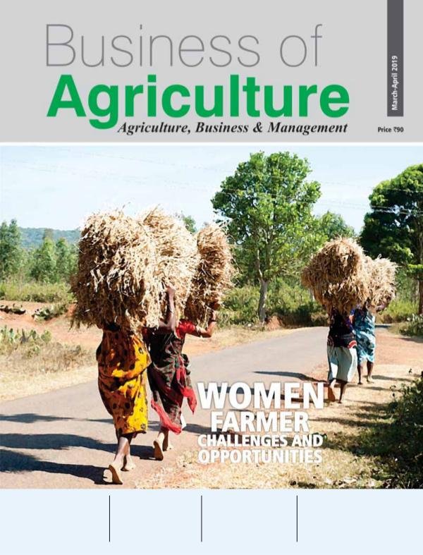 Business of Agriculture March April 2019 Edition